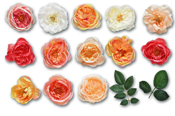 Cottage Garden Silk Flowers Graphics