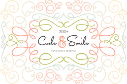 Curls and Swirls Vector Graphics