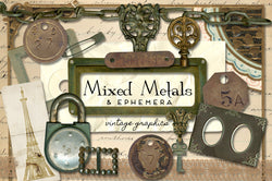 Mixed Metals & Ephemera Graphics
