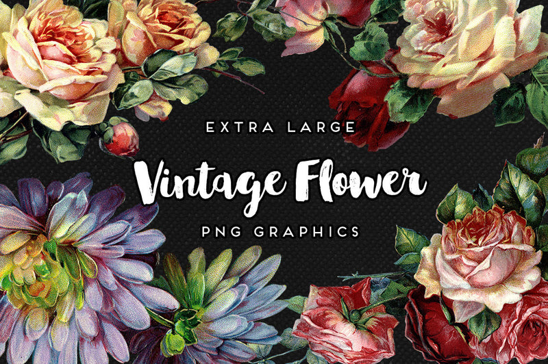 Flower Power Graphics Mega Bundle