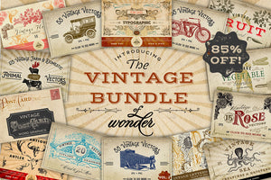 Vintage Graphics Bundle of Wonder