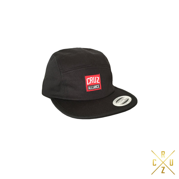 Cruz Alliance 5 Panel Camper Hat (BLK)