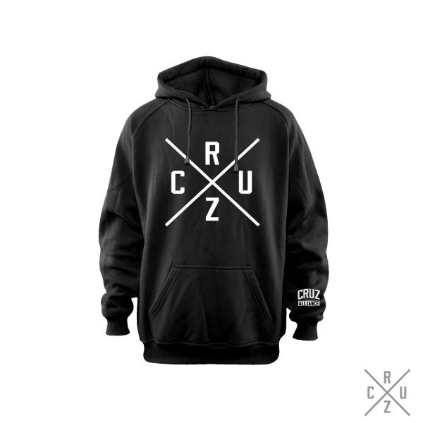 Cruz Cross Heavyweight Hoodie (BLK)
