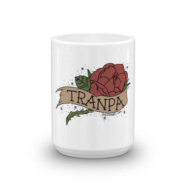 Tranpa Coffee Mug [text graphic]