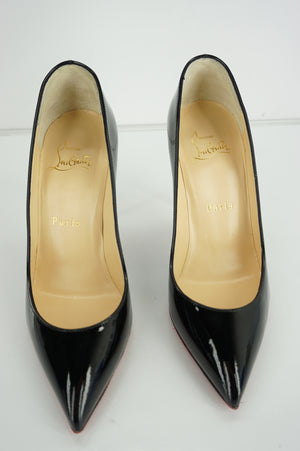 Christian Louboutin Womens Pigalle Follies Pump Pigalle Follies Patent Leather Size 35.5