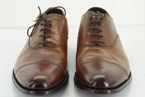 To Boot New York Brown Leather 'Aidan' Cap Toe Oxfords Size 11.5 US Mens $395