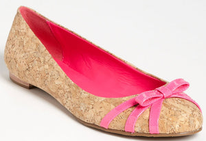 Kate Spade Womens Tiny Ballet Flat Pink Patent Size 9.5