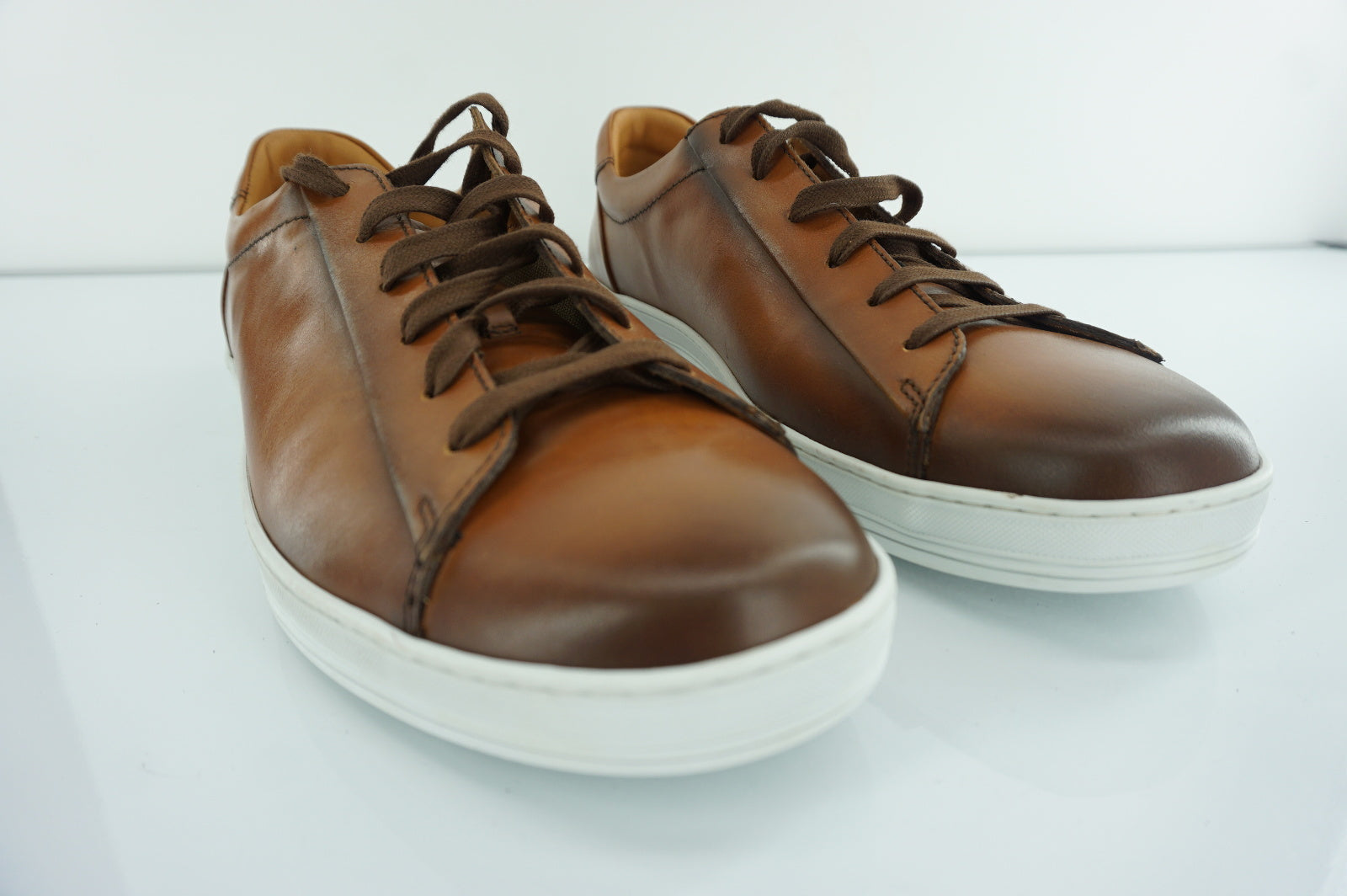 To Boot New York Brown Leather Ranger Mens Low Top Sneakers Size 13 NIB $375