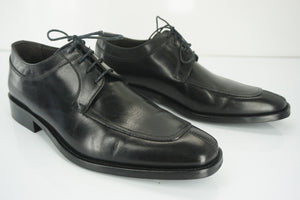 To Boot New York Black Leather Damon Apron Toe Oxford Derby SZ 8.5 NIB $325