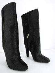 Alexander Wang Womens Edythe Boot Black Leather Size 36