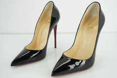 Christian Louboutin Womens So Kate Pump Beige Patent Size 36