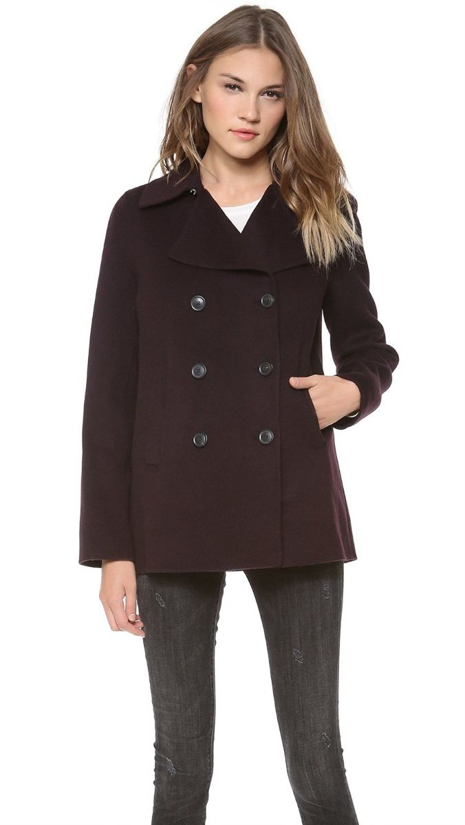 Abercrombie & Fitch Women's hooded coat