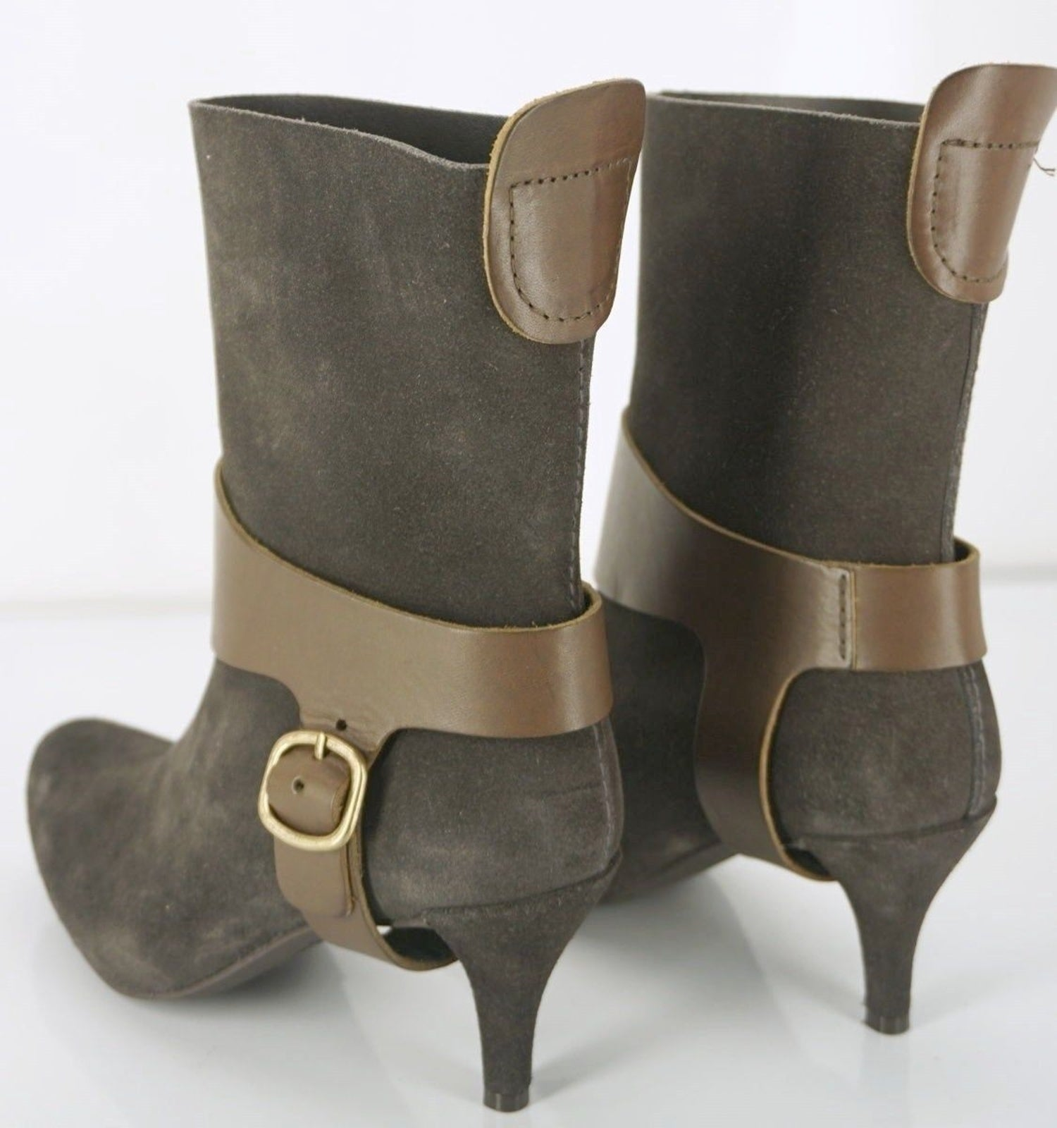 Pedro Garcia Suede Addison Removable Harness Boots Size 36 New $550 Platform