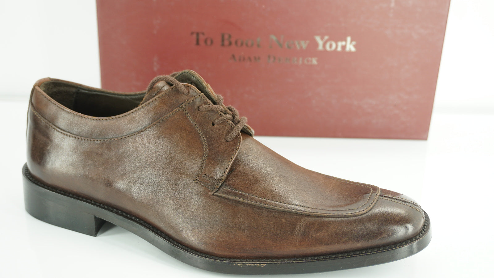 To Boot New York Dexter Split Toe Derby Oxford Shoes Size 9.5 M Lace Up $350
