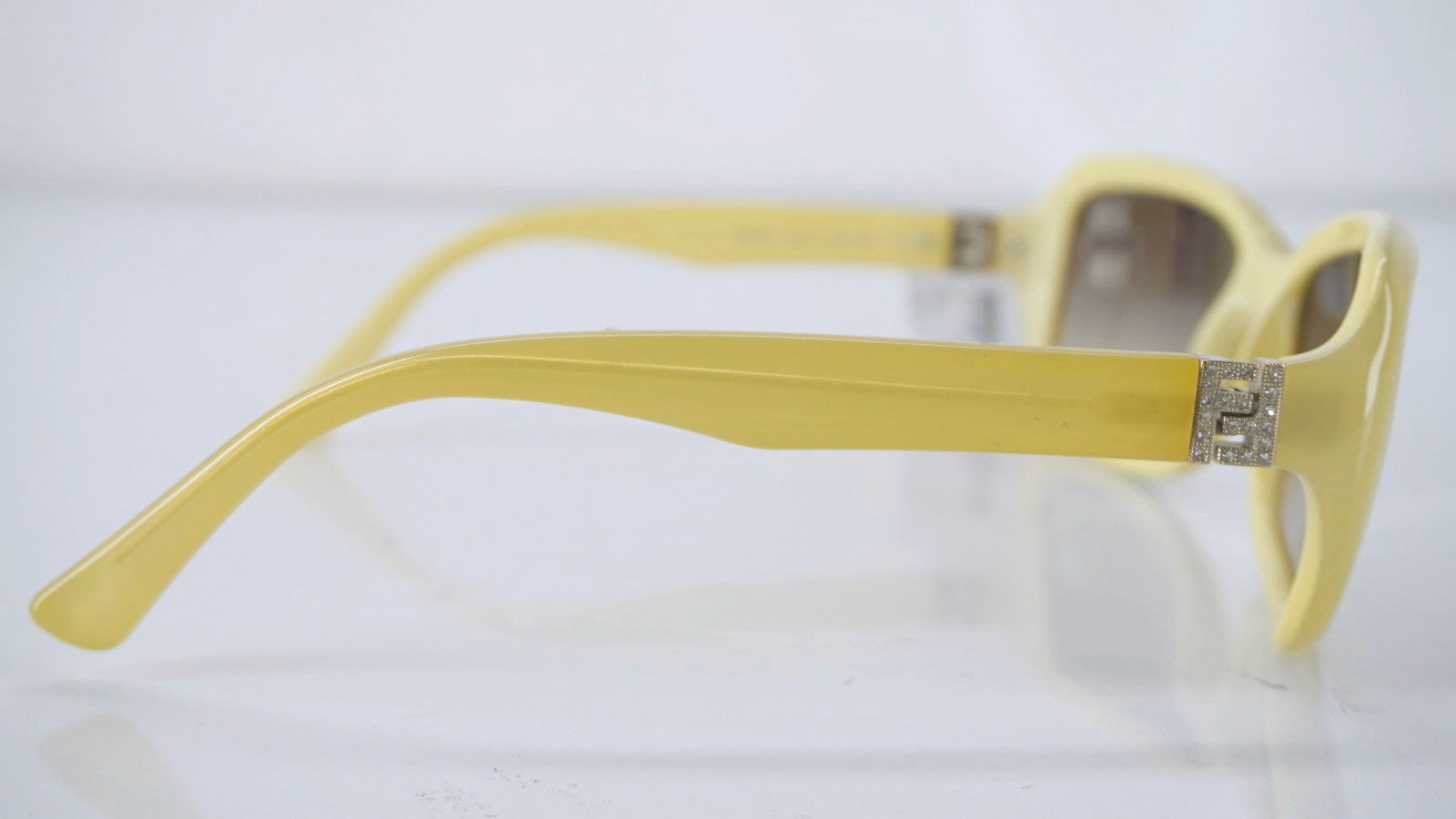 Fendi Embrace Cold Insert FS 5071R 58 15 799 125 Yellow Sunglasses New $665
