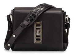 Proenza Schouler Black Leather Elliot Mini Shoulder Bag $1650 New