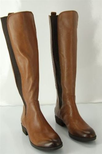 Sam Edelman Womens Paradox Riding Boot Brown Leather Size 6.5