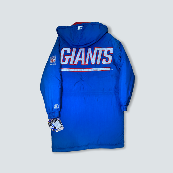 New York Giants Deadstock Starter Winter Jacket Size Large NWT