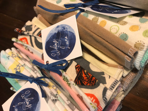Whimsy Luna Cloth Wipes