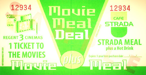 Strada-Regent Movie Meal Deal Gift