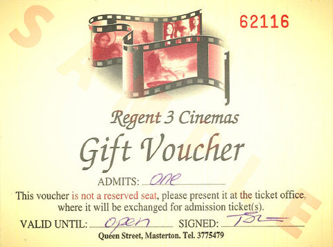 Single Cinema Gift Pass