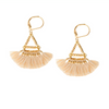 Lilu Tassel Earring Cream