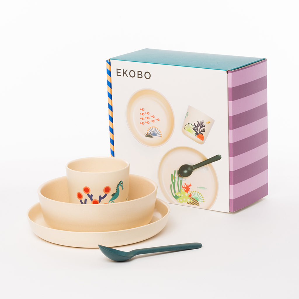 Bamboo Kids Dish Set
