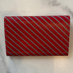 Red Stripe Card Case