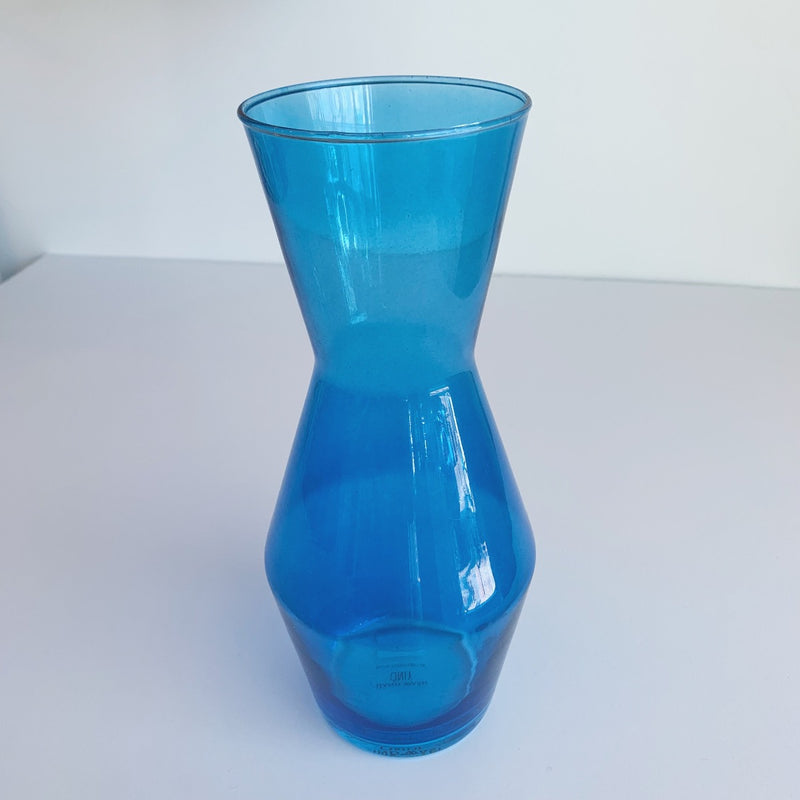 Double Up Blue Decanter