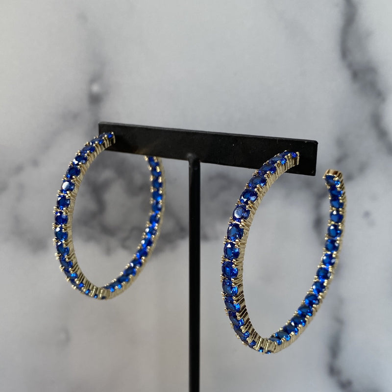 Bianca Hoops Blue
