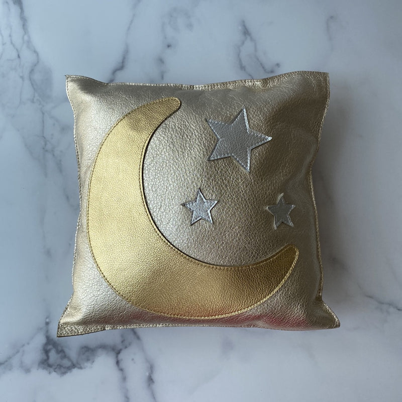 Moon and Stars Pillow