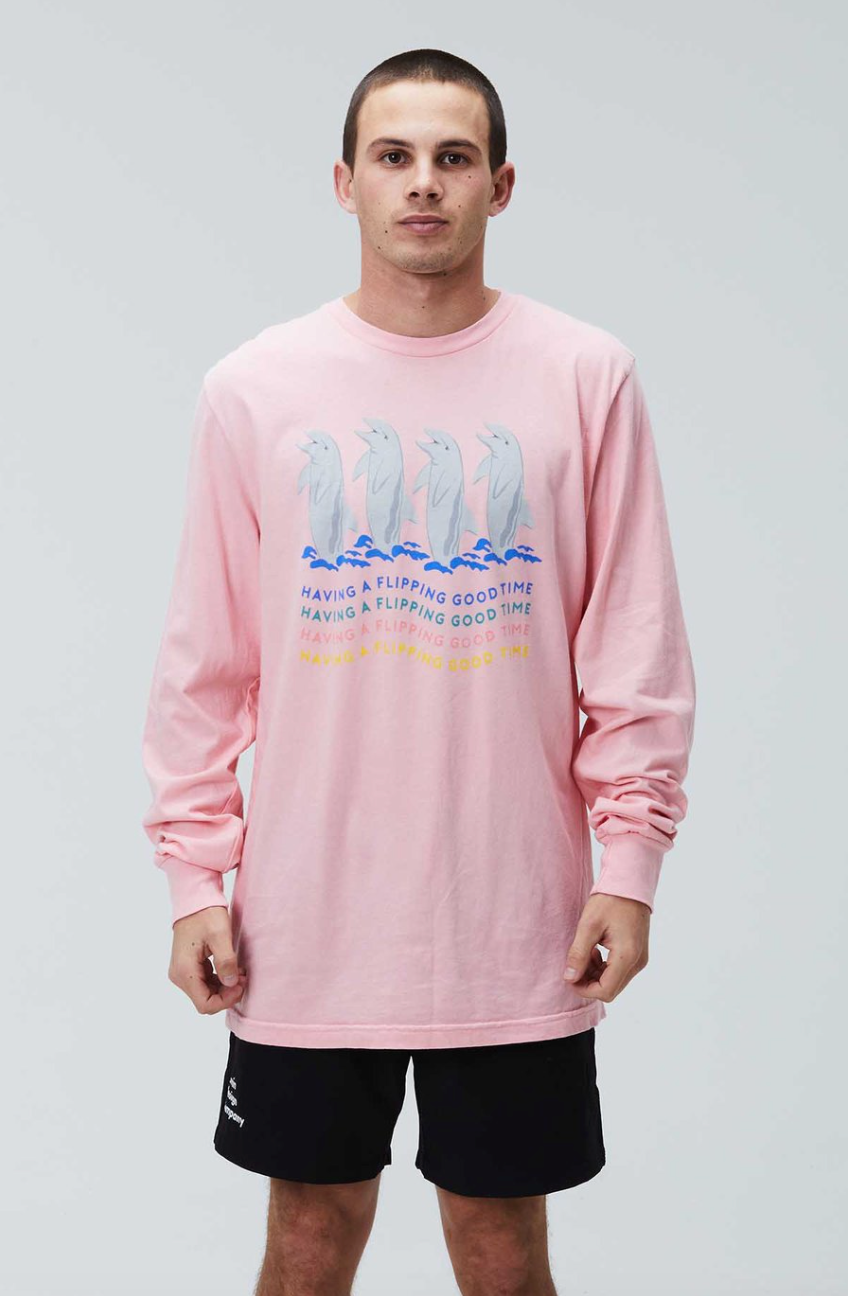 Flipping Good Time L/S T-Shirt