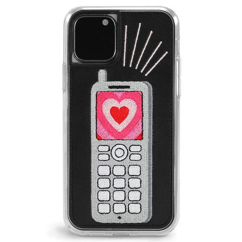 Feature Phone Embroidered Phone Case
