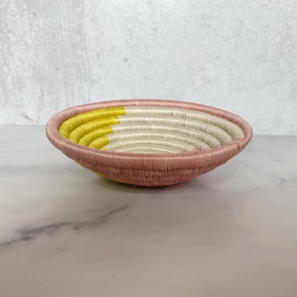 Pink and Yellow Catchall