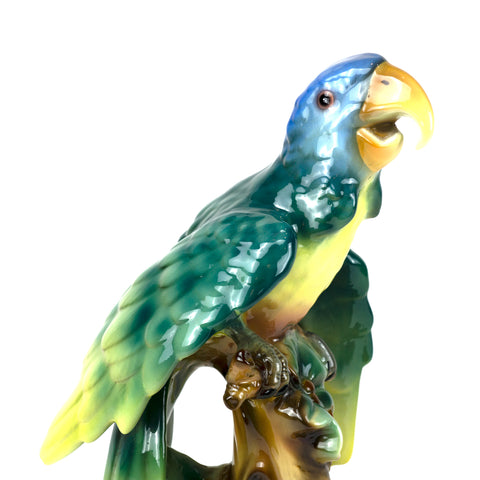 Large Parrot Figurine