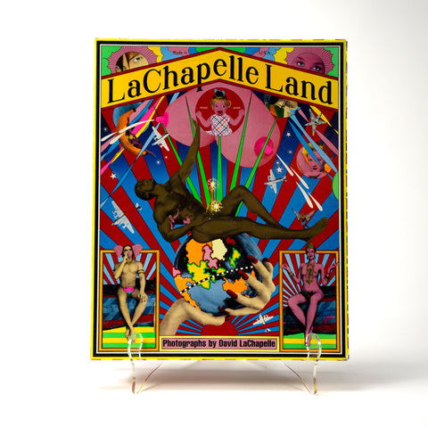 LaChapelle Land, photographs by David LaChapelle. Simon and Schuster Editions, 1996. First Edition. Numbered. Available at Fonfrege.com