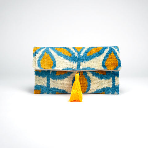 Çirali Pillow Clutch - Saffron