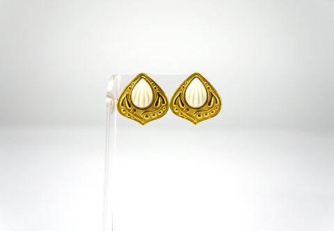 YSL Moorish Gold Earrings