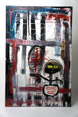 """Sure,"" 2008 (in the manner of Basquiat)"