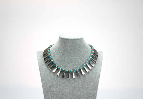 Turquoise Sterling Necklace Mexico