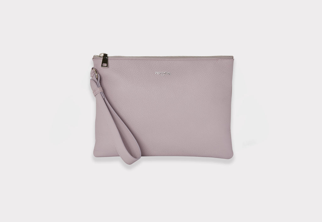 Fonfrege Vitesse Clutch in Rose Jaipur (Pink). Made in Italy. Available at Fonfrege.com