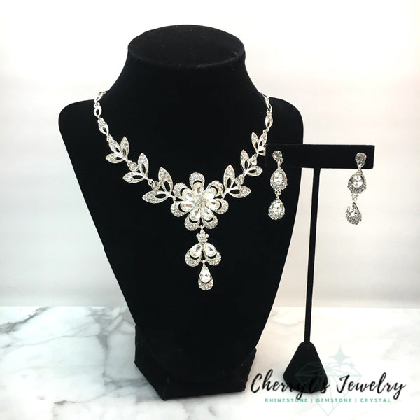 Crystal Statement Necklace Set Sets