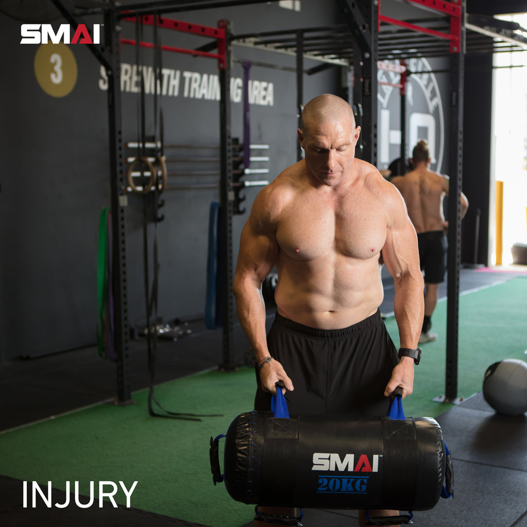 Training with an injury - The Big Bad Bobby Blog