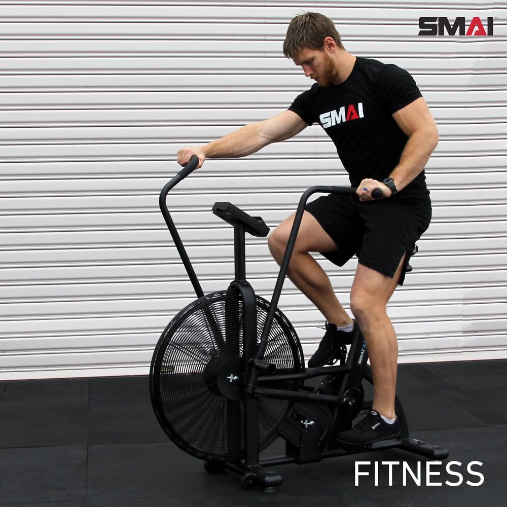 Three Training Styles on the Air Bike