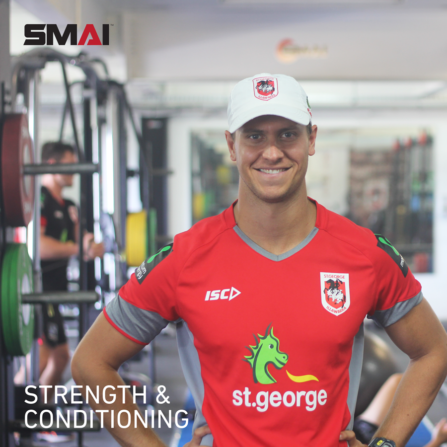Dragons pre-season training with Nathan Pickworth