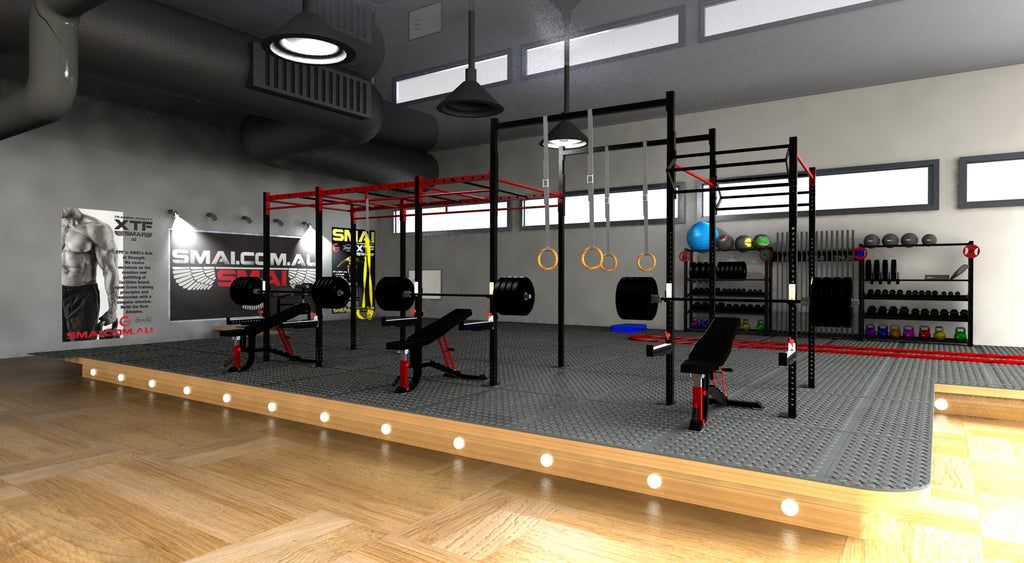 3d rendering gym design service for Gym layout design software free