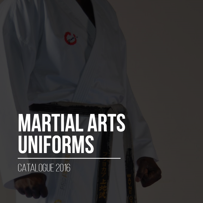 Martial Arts Catalogue