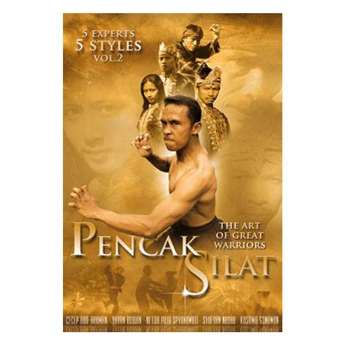 Pencak Silat 5 experts- 5 styles Vol 2