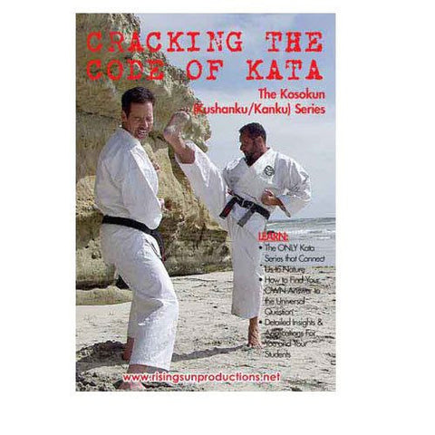 Cracking the Code of Kata Kushanku Kanku Series, martial arts dvd, martial arts dvds, martial arts movies dvds, martial arts instructional dvd, mixed martial arts dvd, martial arts training dvd, martial arts workout dvd, martial arts dvd movies, martial arts weapons dvd