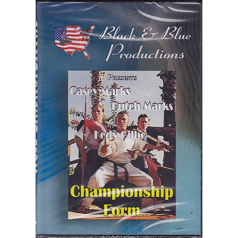 Casey Mark Championship Form DVD, martial arts dvd, martial arts dvds, martial arts movies dvds, martial arts instructional dvd, mixed martial arts dvd, martial arts training dvd, martial arts workout dvd, martial arts dvd movies, martial arts weapons dvd